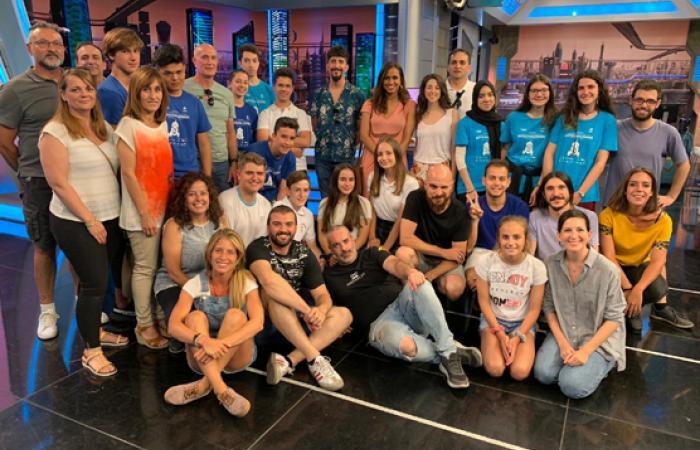 Los ganadores de la competición de robótica del CEEI de Guadalajara visitan El Hormiguero¨
