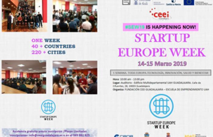 El CEEI de Guadalajara acogerá de nuevo la Startup Europe Week los próximos 14 y 15 de marzo ¨