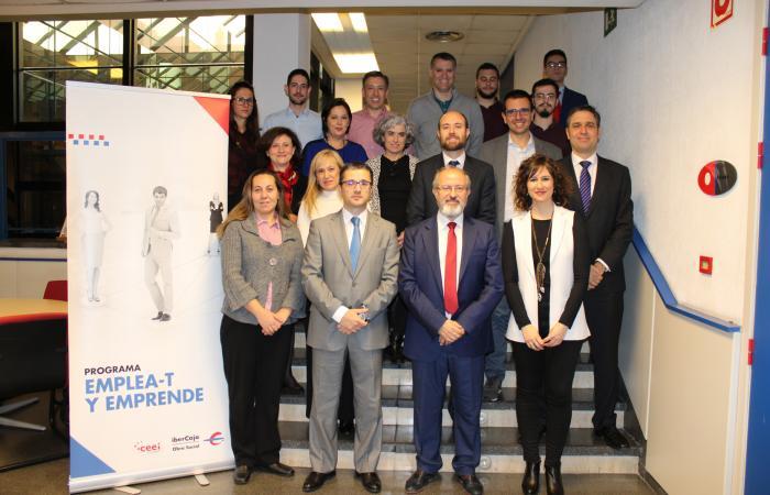 Fundación Ibercaja y Fundación CEEI inician el curso Desarrolla-T, dentro del programa Emplea-T  y Emprende 2019¨