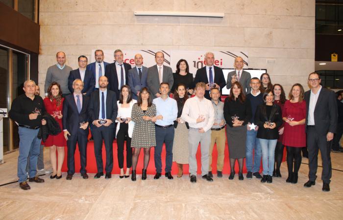 Reencuentros y reconocimientos en la gran noche del 10 aniversario del CEEI de Guadalajara¨