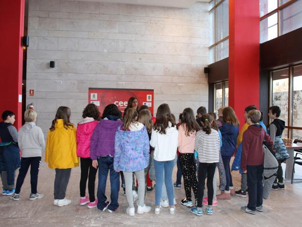 Cerca de 100 alumnos del Colegio La Muñeca se forman en materia de emprendimiento e innovación de la mano del CEEI de Guadalajara