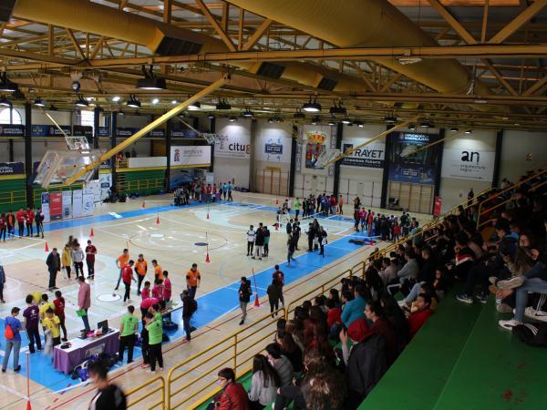 Giobots 19, del Colegio Giovanni Antonio Farina de Azuqueca de Henares, ganan la segunda competición de robótica para institutos organizado por el CEEI de Guadalajara y la Fundación Ibercaja