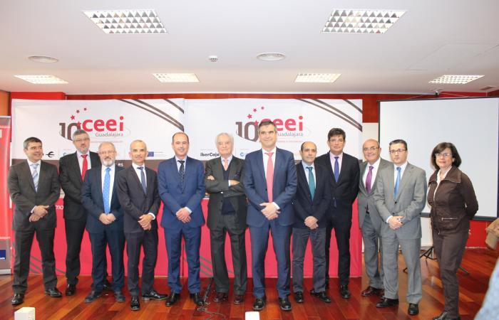 Agustín de Grandes presenta los actos conmemorativos del 10º aniversario del CEEI de Guadalajara¨