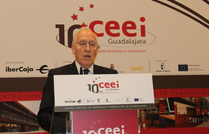 Manuel Pizarro inaugura los actos del 10º aniversario del CEEI de Guadalajara¨