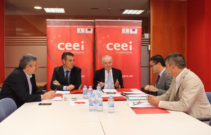 El CEEI de Guadalajara celebra su patronato para analizar las actividades realizadas durante los primeros meses de 2019¨