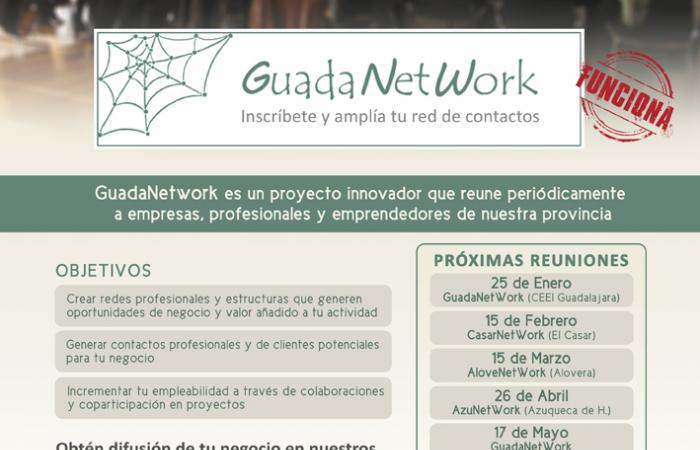 GuadaNetWork prepara  seis nuevos encuentros para el primer semestre de 2019, con el objetivo de seguir acercando empresas¨