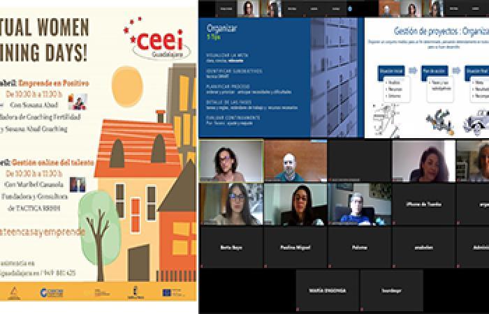 Una treintena de PYMEs y emprendedores se informan de cómo emprender durante el COVID-19 en el tercer virtual women training days del CEEI Guadalajara
