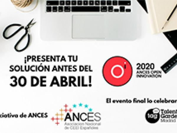 Ances Open Innovation: 11 grandes empresas te retan a presentar soluciones para sus desafíos tecnológicos antes del 30 de abril