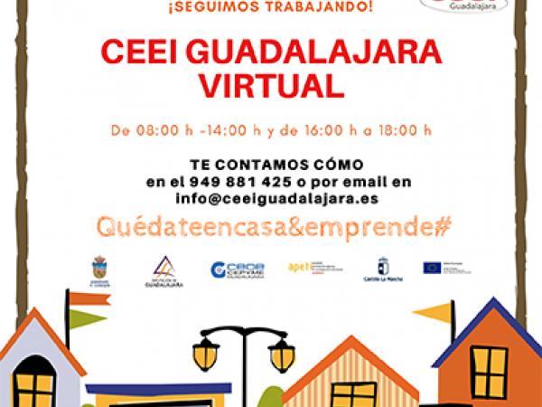 CEEI Guadalajara continúa con el asesoramiento y acompañamiento a los emprendedores de la provincia
