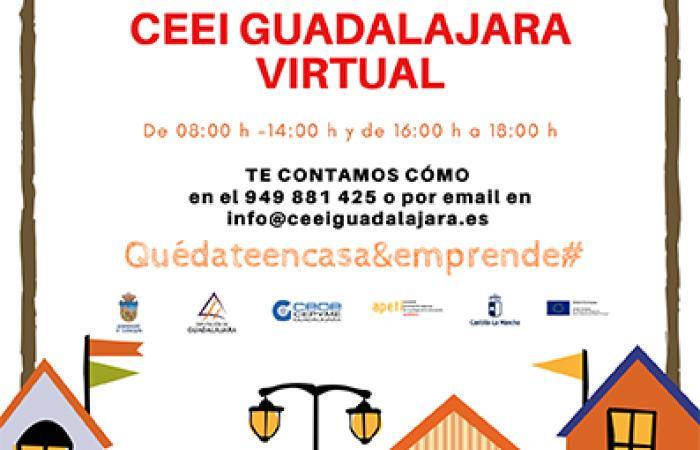CEEI Guadalajara continúa con el asesoramiento y acompañamiento a los emprendedores de la provincia¨