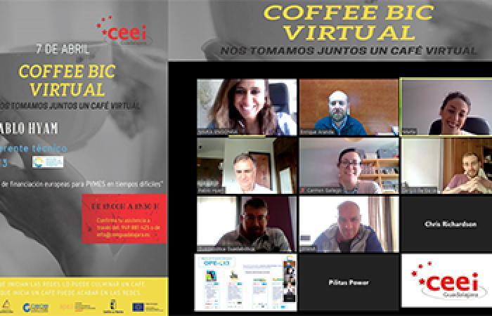 CEEI Guadalajara celebra su Coffee BIC Connection virtual¨
