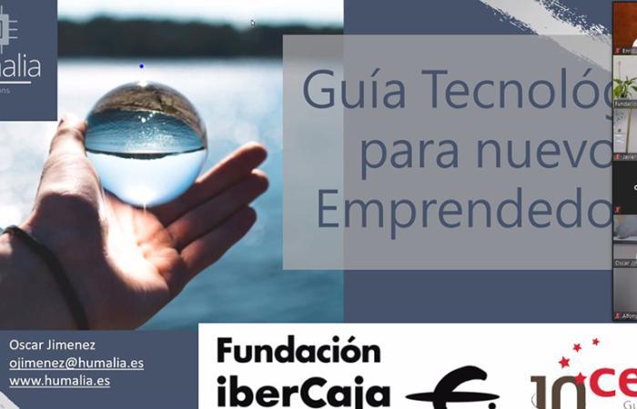 Una treintena de emprendedores participan en el taller online del programa Emplea-T y Emprende de Fundación Ibercaja para impulsar el uso de la tecnología en las empresas¨