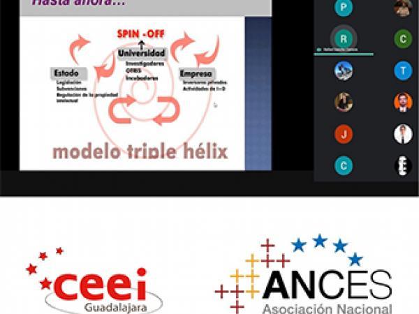 Los procesos de innovación abierta para startups centran un nuevo taller virtual  del CEEI Guadalajara