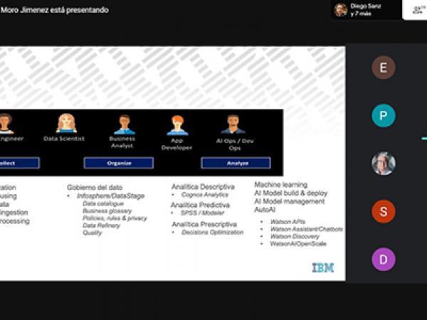 La multinacional IBM da las claves de la reinvención digital a los emprendedores de la provincia