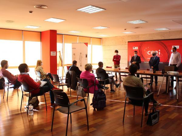 15 emprendedores de Guadalajara participan en desarrolla tu modelo de negocio del programa Emplea-T y Emprende, de la Fundación Ibercaja