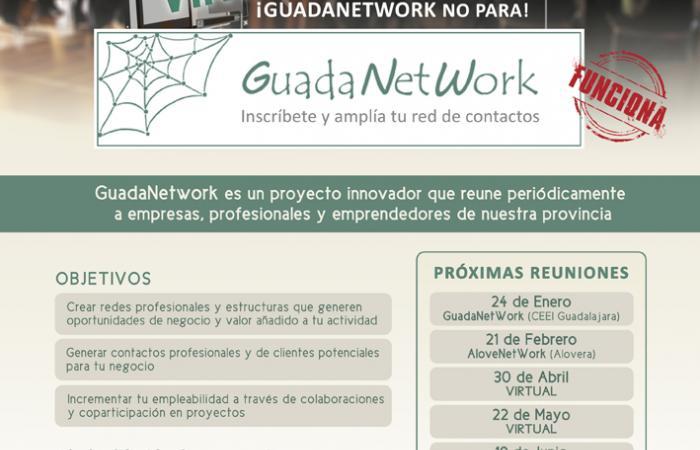 GuadaNetWork, el punto de encuentro de PYMES y autónomos de la provincia continua de manera virtual ¨