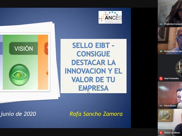 El CEEI Guadalajara realiza un nuevo taller virtual con el objetivo de potenciar la innovación en las pymes con el sello EIBT