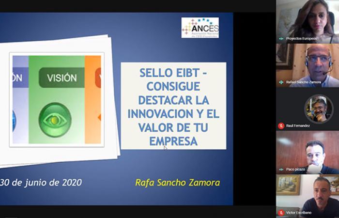 El CEEI Guadalajara realiza un nuevo taller virtual con el objetivo de potenciar la innovación en las pymes con el sello EIBT¨