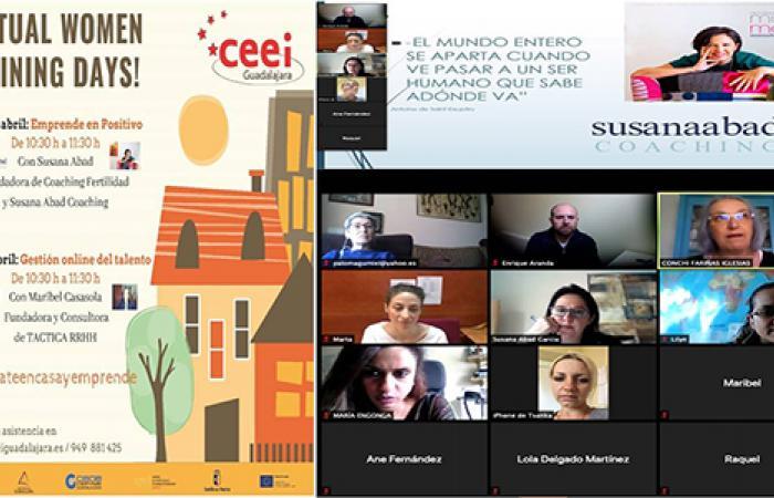 Emprender en positivo, primer virtual women training days del CEEI Guadalajara¨
