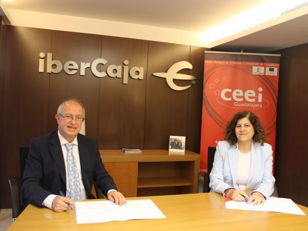 Fundación CEEI Guadalajara e ibercaja apoyarán a los emprendedores e impulsarán la empresa del futuro a través del ecosistema más empresa
