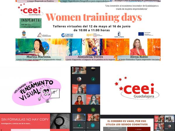 Los virtual Women Training Days del CEEI Guadalajara se convierten en la referencia del emprendimiento femenino