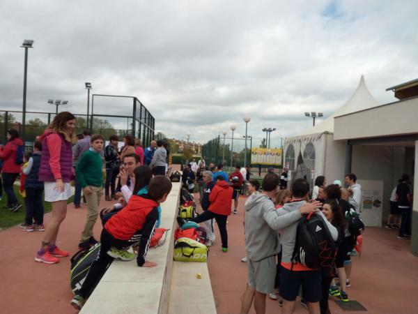 Gran éxito del torneo de pádel benéfico, Una vida para Diego, organizado por el CEEI de Guadalajara a favor de la Asociación Duchenne Parent Proyect España