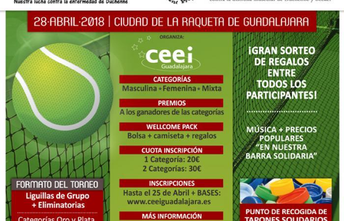 Convocatoria de prensa-Entrega de premios torneo de pádel benéfico-Una vida para Diego¨