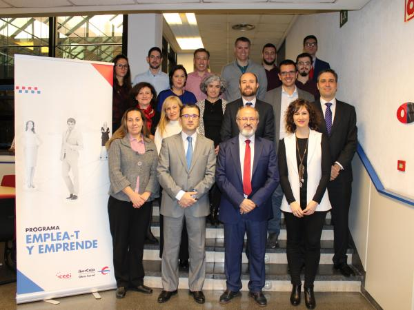 13 emprendedores de Guadalajara han finalizado el curso Desarrolla-T, dentro del programa Emplea-T y Emprende 2018, en el Centro Ibercaja Guadalajara