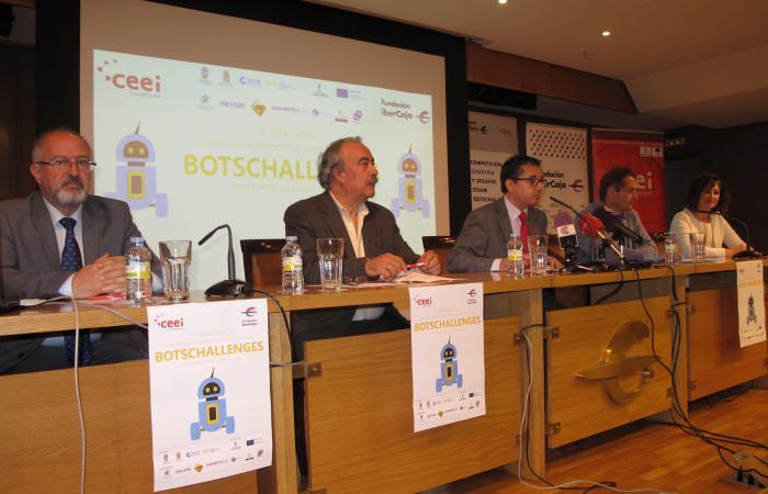 16 centros educativos de toda la provincia, participan en la II competición de robótica: Botschallenges de la provincia de Guadalajara del CEEI alcarreño y la Fundación Ibercaja ¨