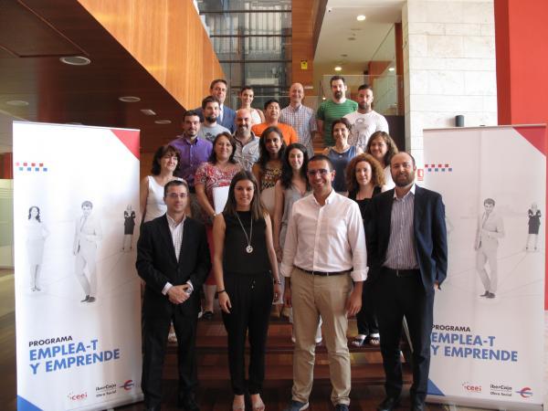 58 emprendedores de Guadalajara participan en el programa Emplea-T y Emprende, de la Obra Social de Ibercaja