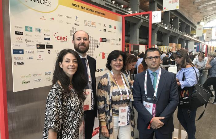 Comienza la participación del CEEI de Guadalajara en South Summit¨