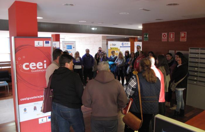 El CEEI de Guadalajara trabaja con los talleres de empleo de la provincia impulsando el emprendimiento y la innovación