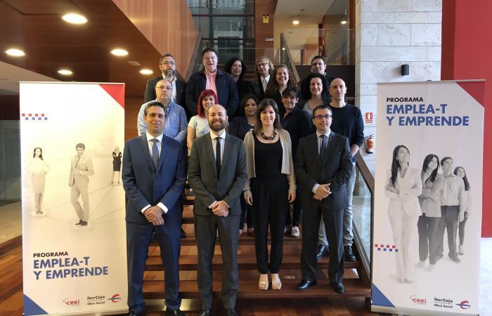 Emprendedores de Guadalajara participan en el nivel Inicia-T del programa Emplea-T y Emprende de la Fundación Ibercaja