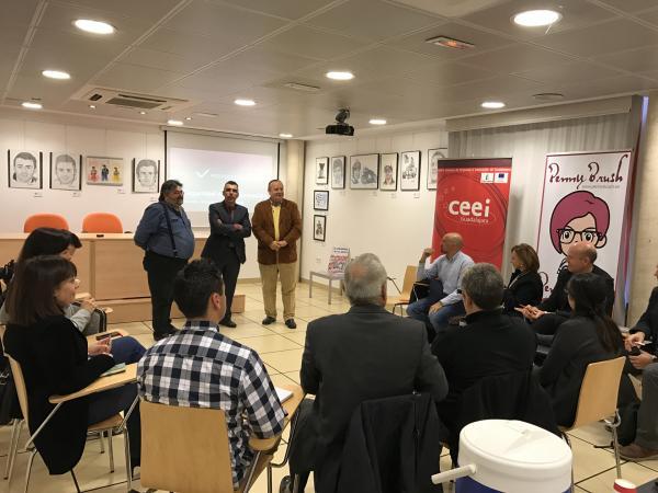 El Casar acoge una nueva edición de CasarNetWork con la participación de más de una quincena de empresarios