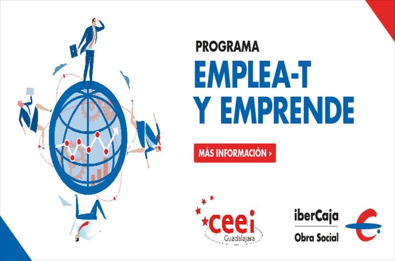 Programa Emplea-t y Emprende Ibercaja Obra Social y CEEI Guadalajara