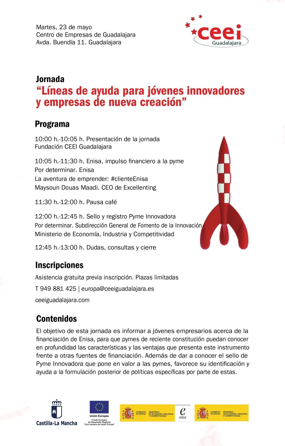 Líneas de ayuda para jóvenes innovadores y empresas de nueva creación