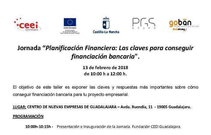 Jornada Claves para conseguir Financiación Bancaria¨