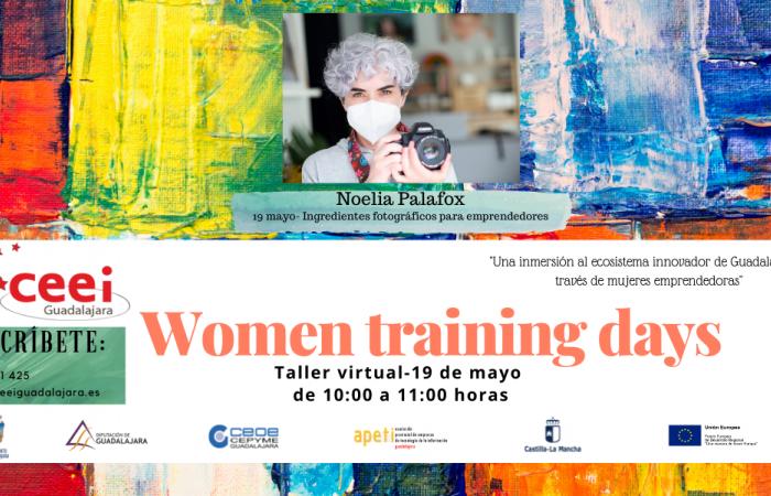 WOMEN TRAINING DAYS - Ingredientes fotográficos para emprendedores - Noelia Palafox – ¨