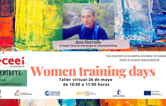 WOMEN TRAINING DAYS - Crea tu estrategia de videomarketing - Ana Garrudo -¨