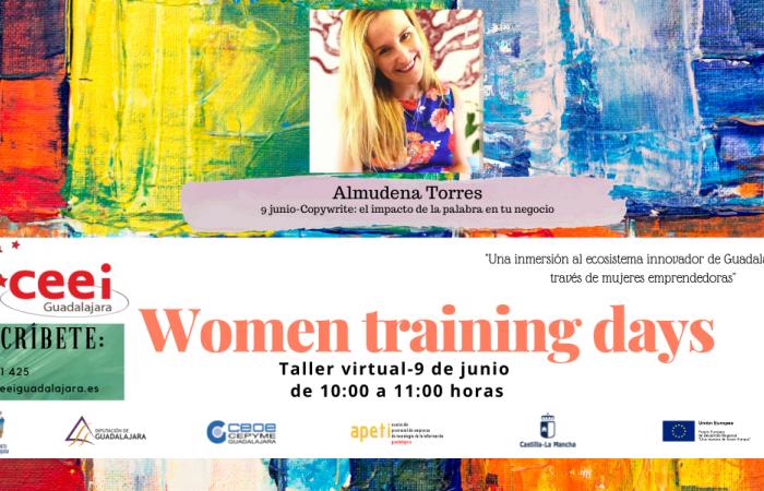 WOMEN TRAINING DAYS - Copywrite: el impacto de la palabra en tu negocio - Almudena Torres –¨