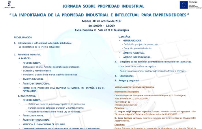 Jornada Propiedad Industrial para Emprendedores