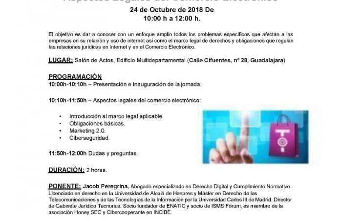 Jornadas Experiencias Senior TIC: Aspectos Legales del Comercio Electrónico