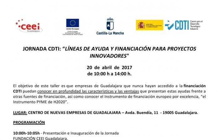 Líneas de ayuda y financiación para proyectos innovadores¨