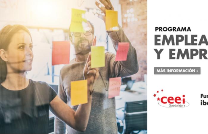 Programa Emplea-t y Emprende Fundación Iberacaja y CEEI Guadalajara¨