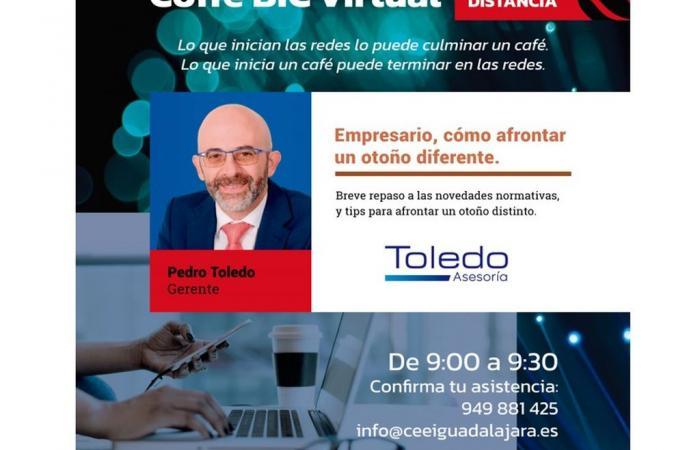 JORNADA COFFEE BIC - Pedro Toledo - Asesoría Toledo