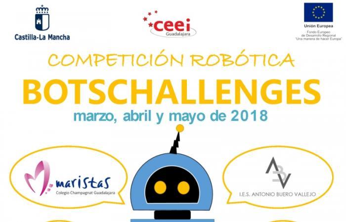 Final 1ª Competición de Robótica de CEEI Guadalajara, BOTSCHALLENGES¨