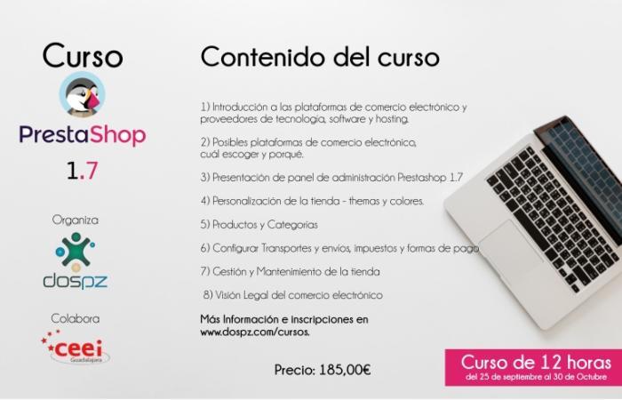JORNADAS TIC: CURSO PRESTASHOP 1.7¨