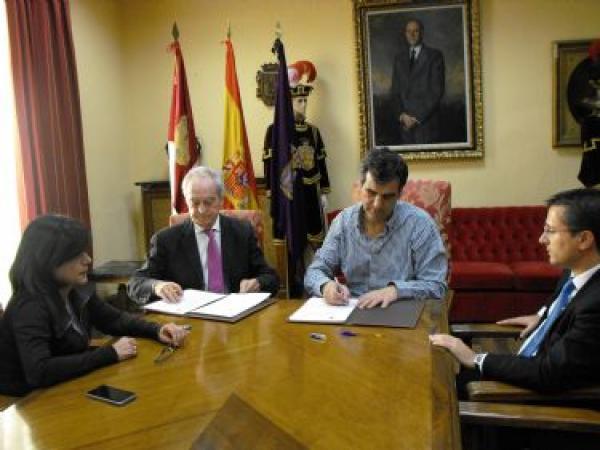 El Ayuntamiento de Guadalajara suscribe un convenio con la Fundaci�n Centro Europeo de Empresas e Innovaci�n