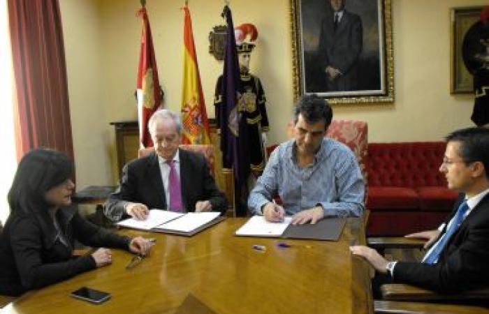 El Ayuntamiento de Guadalajara suscribe un convenio con la Fundación Centro Europeo de Empresas e Innovación¨